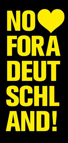 nie wieder deutschland! 3.10. münchen